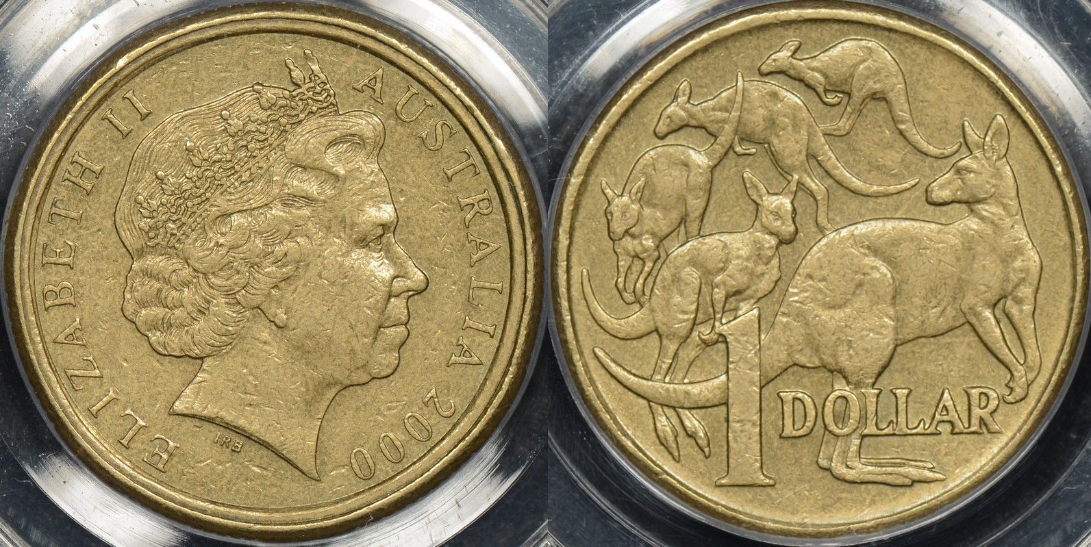 Australia 2000 1 10c mule pcgs au55 our coin catalog for 2000 dollar cabin