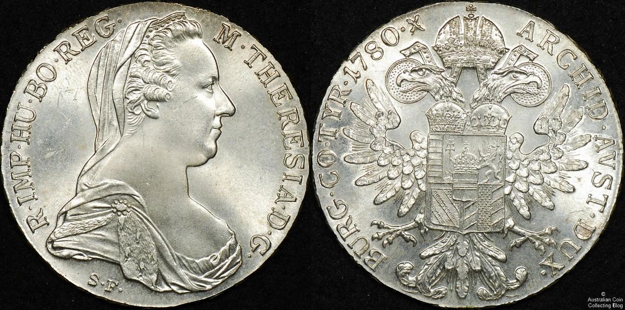 Austria 1780 Taler UNC