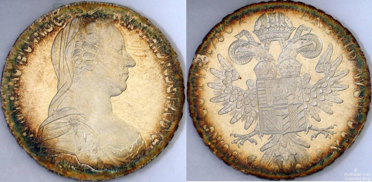 Austria 1780 1 Taler Proof