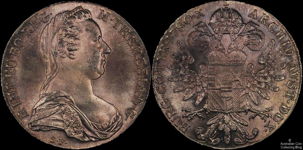 Austria 1780 1 Taler UNC