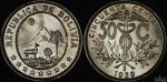 Bolivia 1939 50 Cent