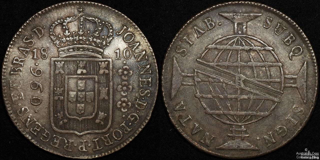 Brazil 1810 960R gVF