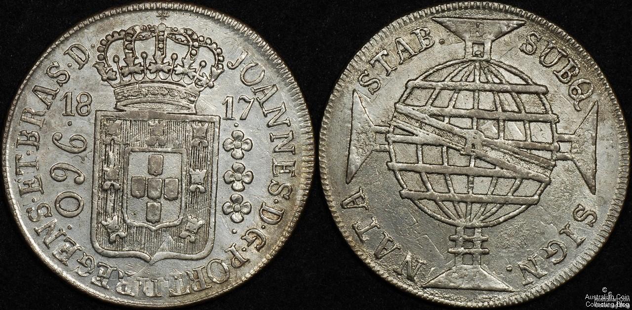 Brazil 1817 960R VF