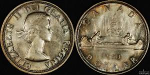 Canada 1953 Dollar
