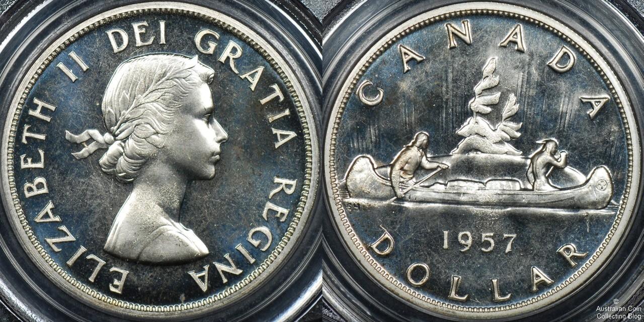 Canada 1957 1 PCGS PL66