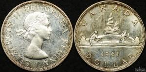 Canada 1961 Dollar