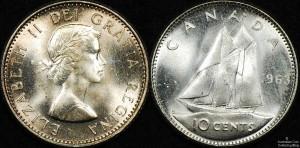 Canada 1963 10 Cent