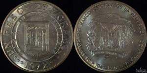 Dominican Republic 1972 1 Peso PCGS MS65