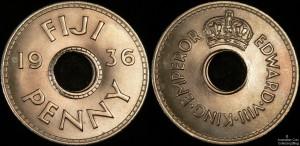 Fiji 1936 Penny