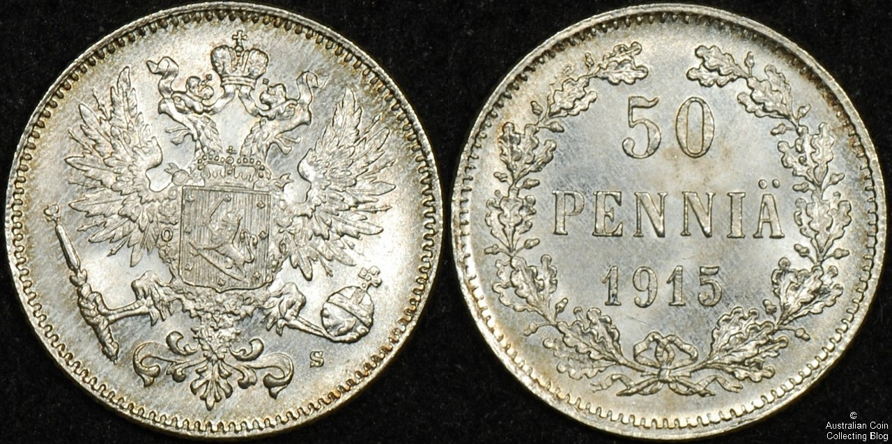 Finland 1915 50p UNC