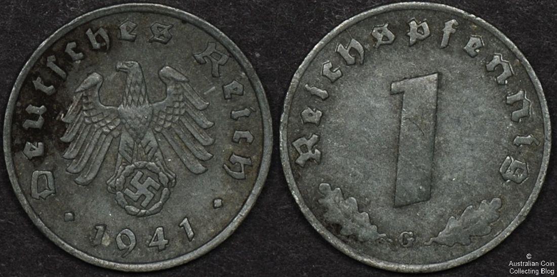 Germany 1941 1p F