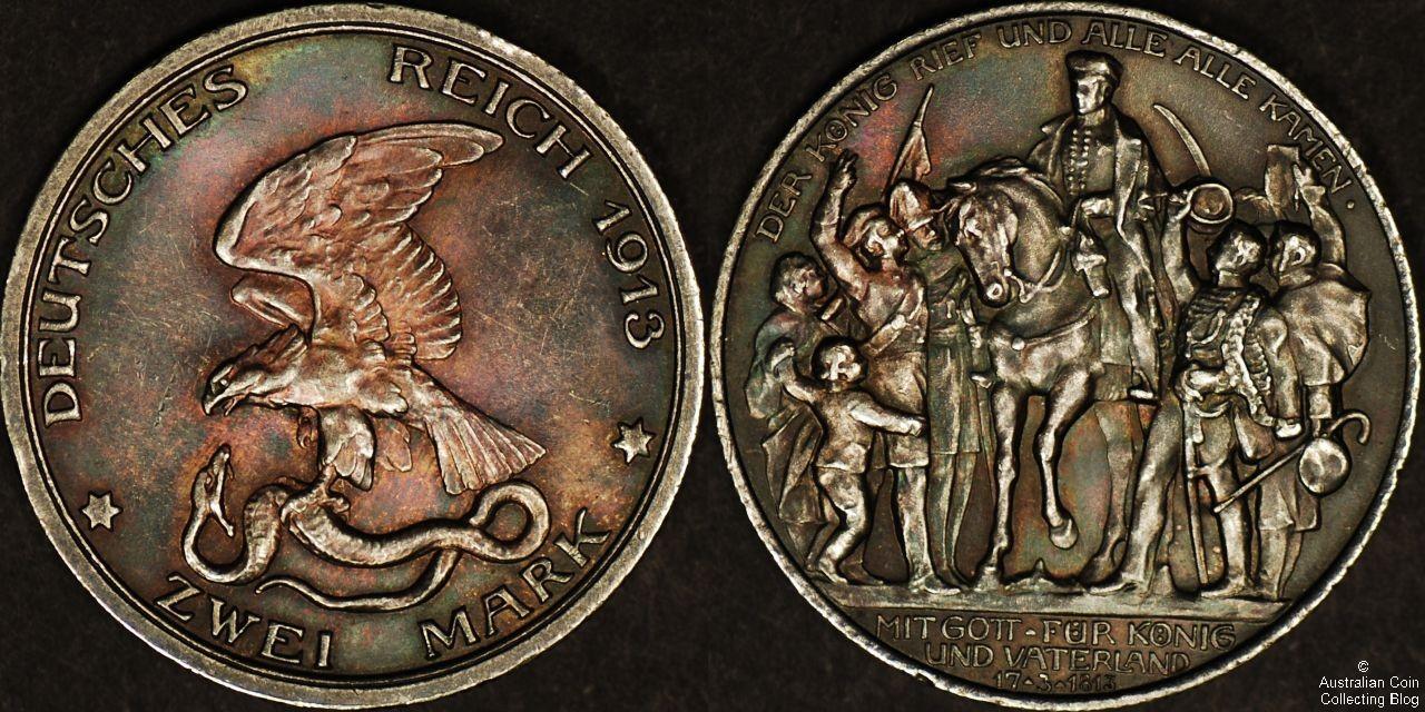 Germany 1913 2M UNC