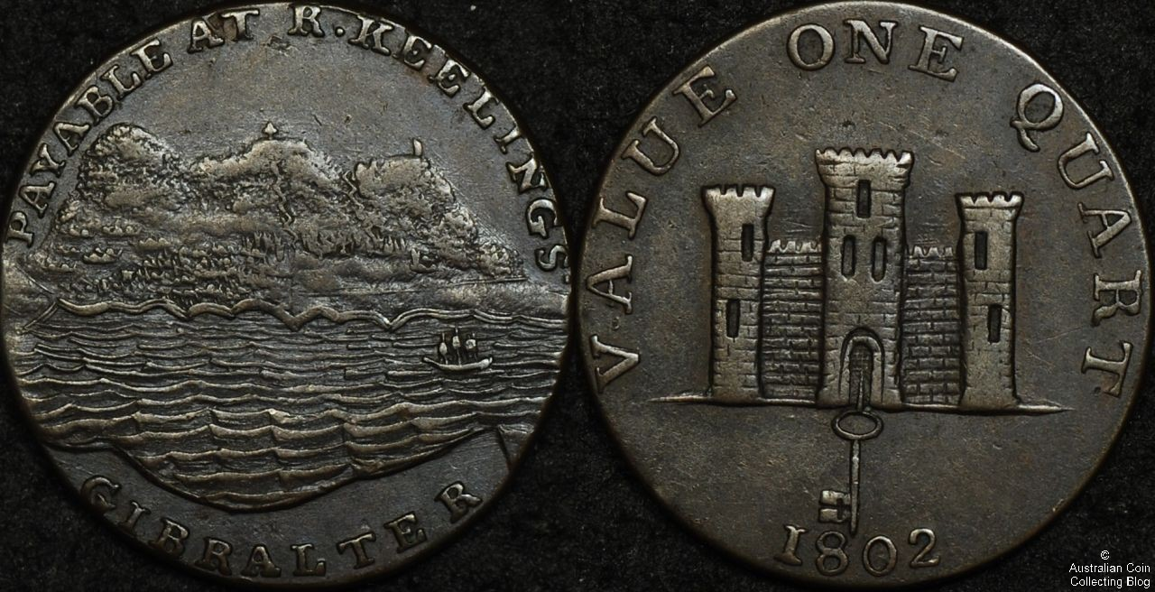 Gibraltar 1802 Quart
