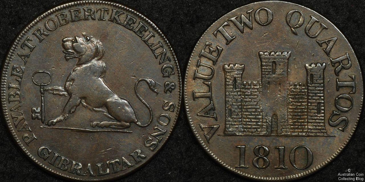 Gibraltar 1802 2 Quartos