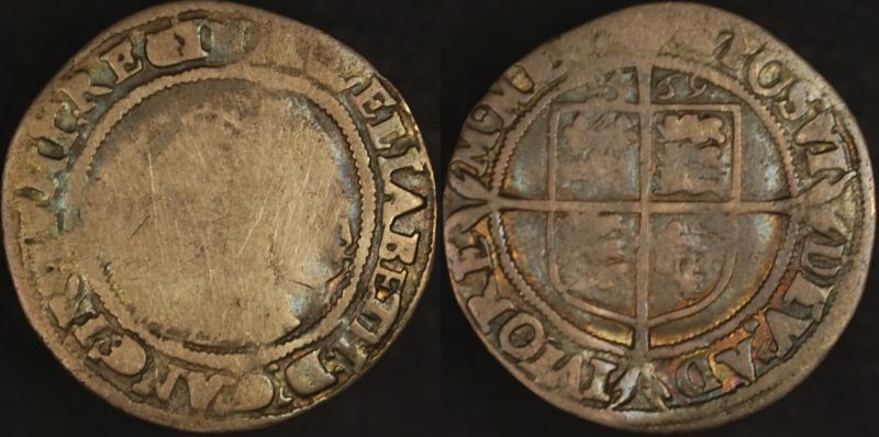 Great Britain 1559 6d