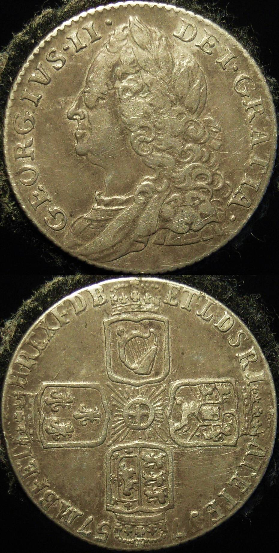 Great Britain 1757 6d