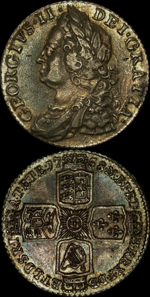 Great Britain 1758 1s