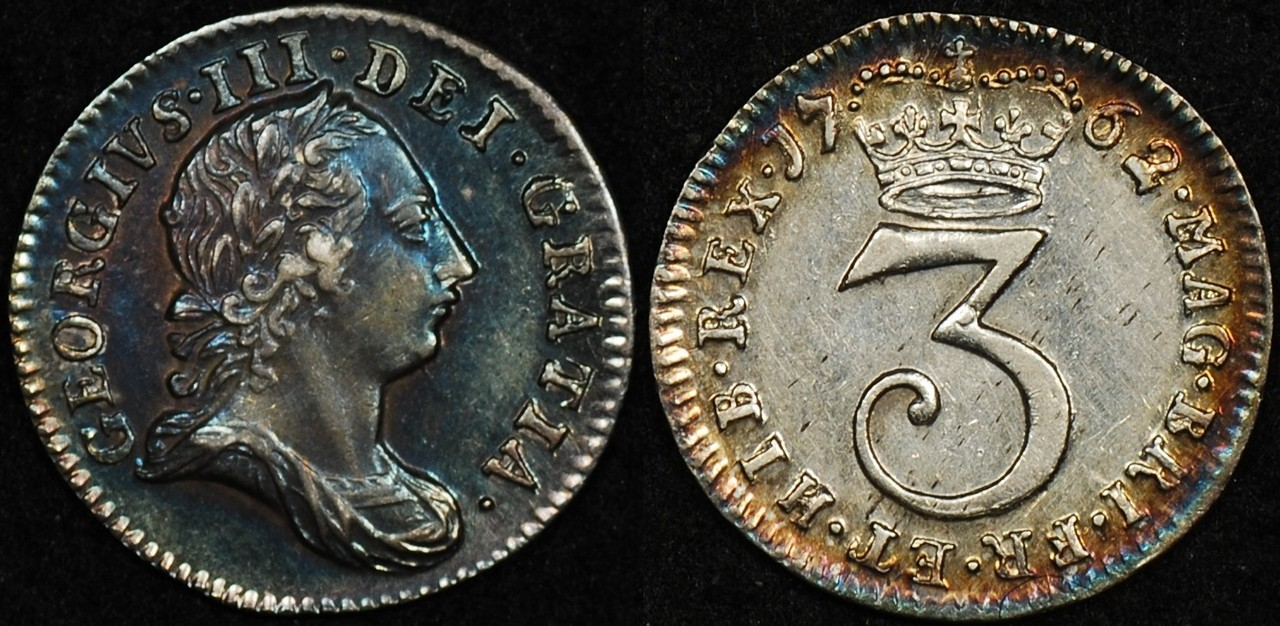 Great Britain 1762 3d