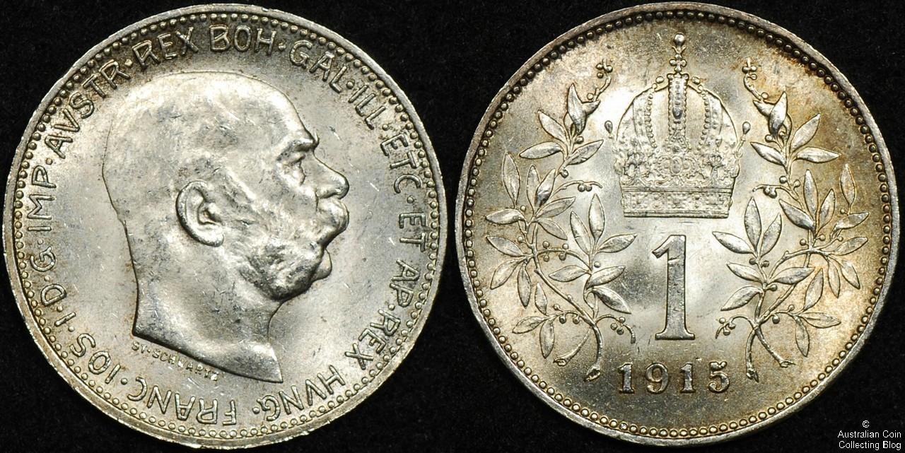 Hungary 1915 1 Korona UNC