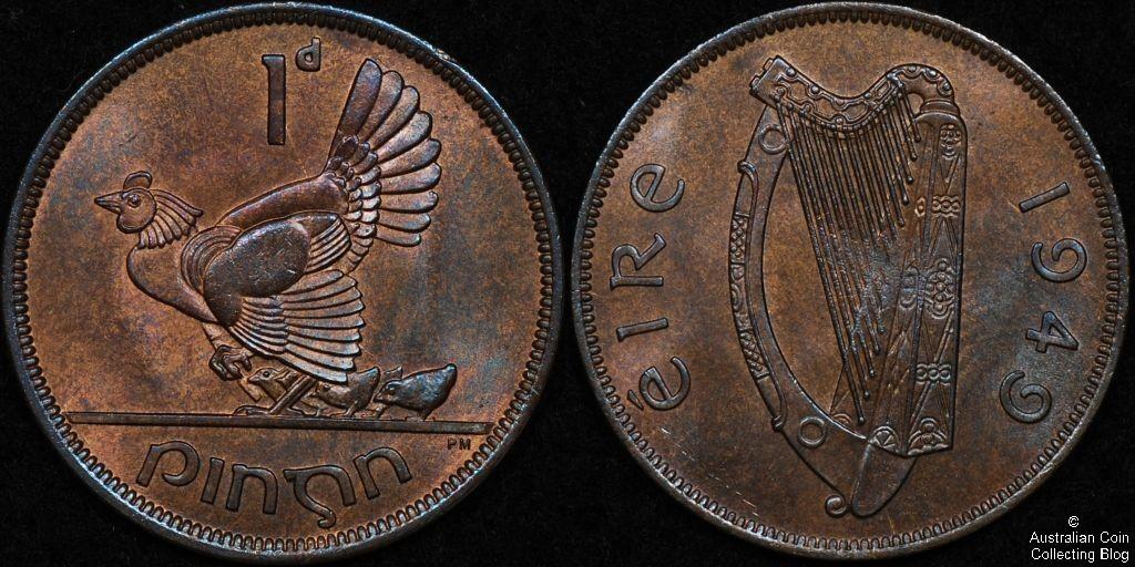 Ireland 1949 1d CHUNC