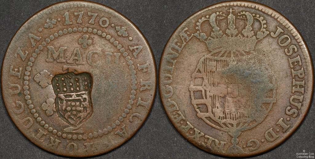 Angola 1837 (ND) Macuta