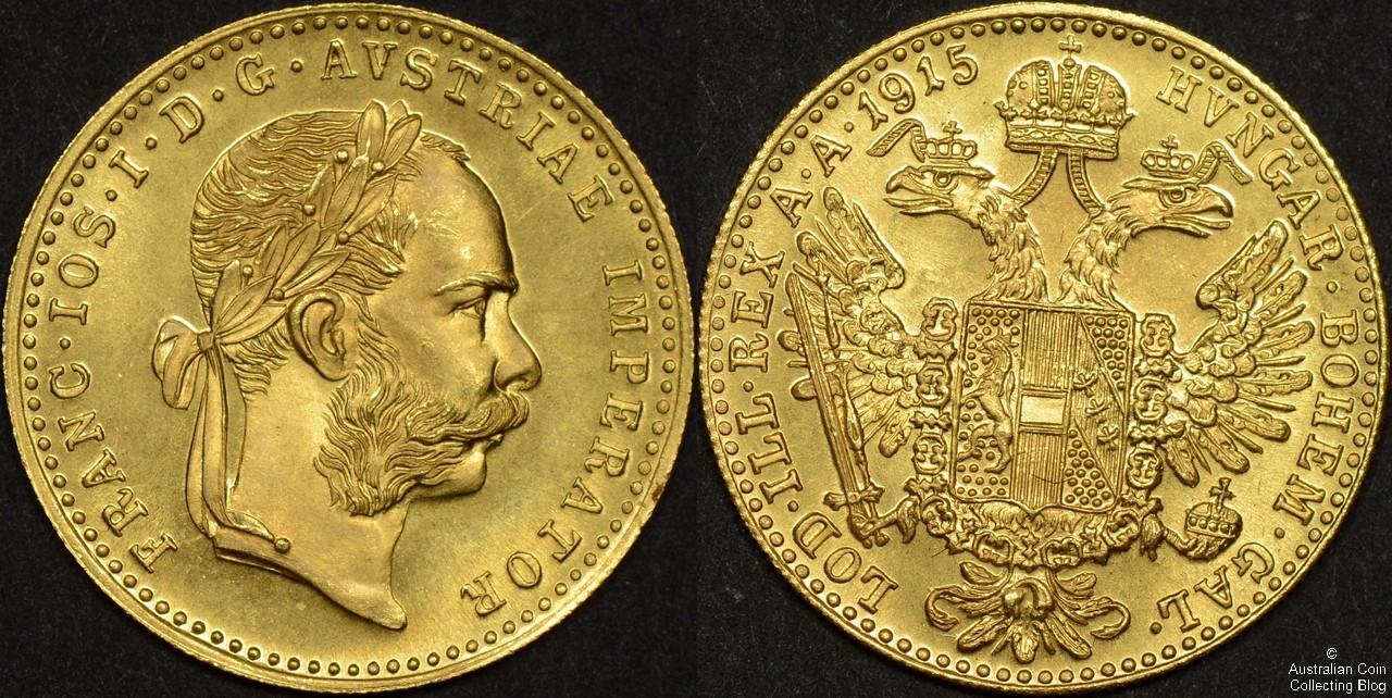 Austria 1915 Ducat Restrike