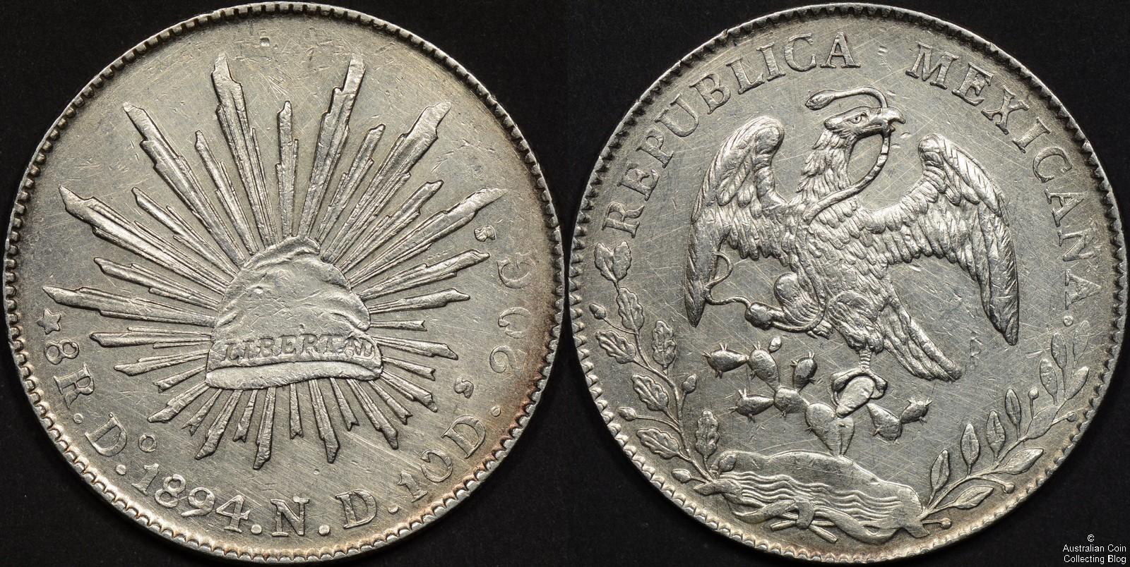Mexico 1894Do 8 Reales