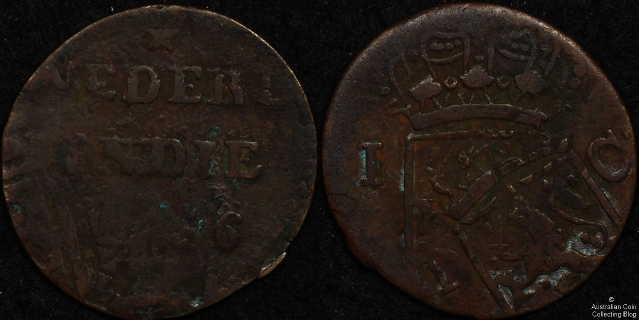 Netherlands East Indies 1836 Cent Poor