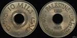 Palestine 1939 10 Mils