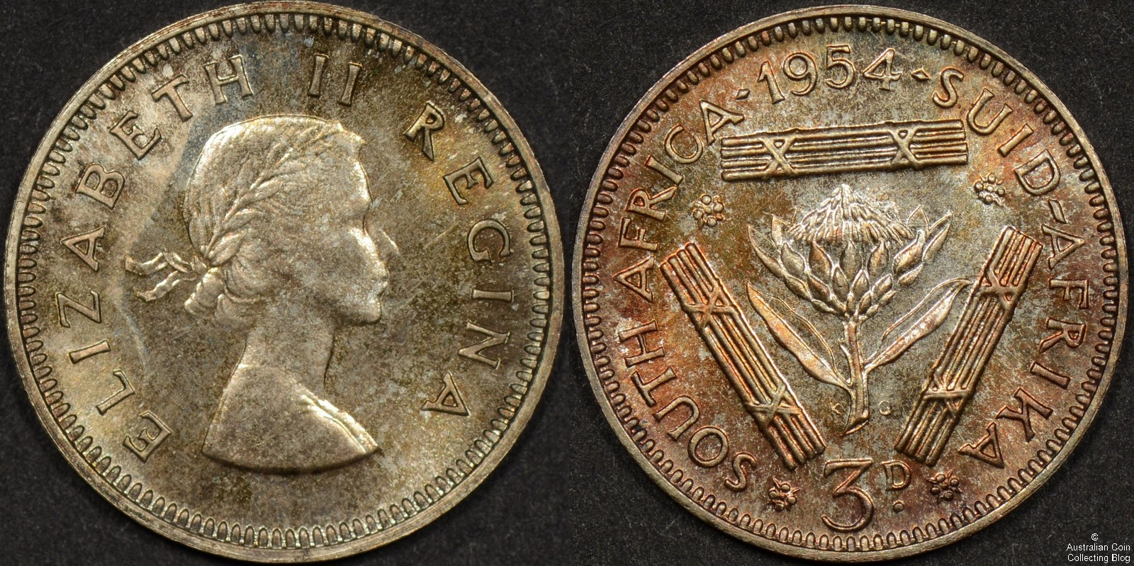 South Africa 1954 3d