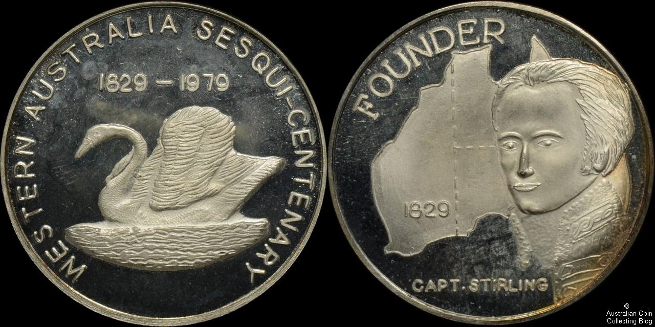 Western Australia 1979 Sesqui-Centenary Medal Silver