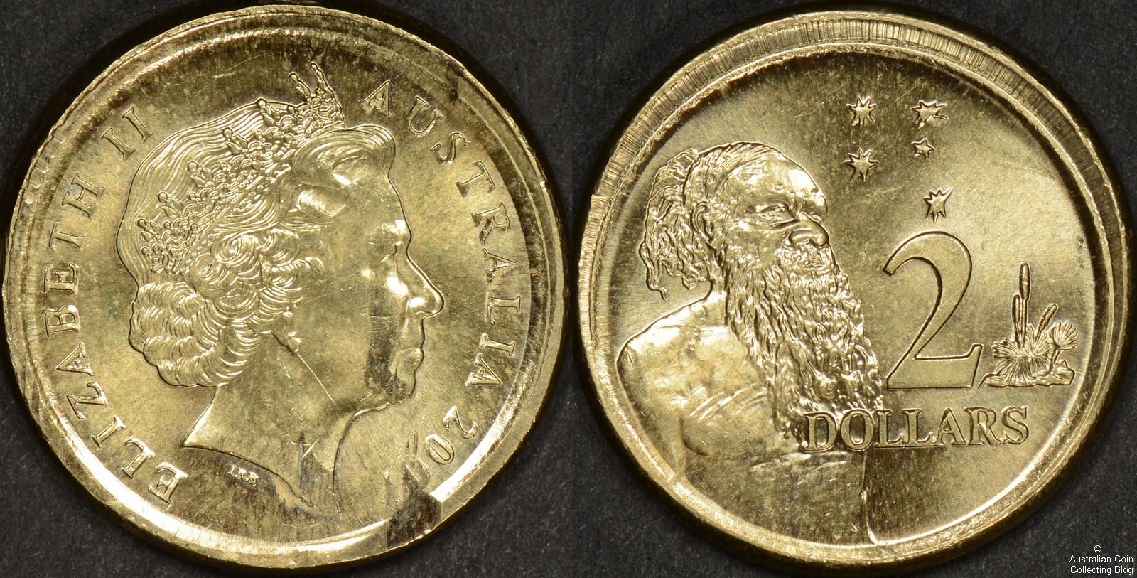 Australia 2007 2 Dollar Out Of Collar Error Our Coin Catalog