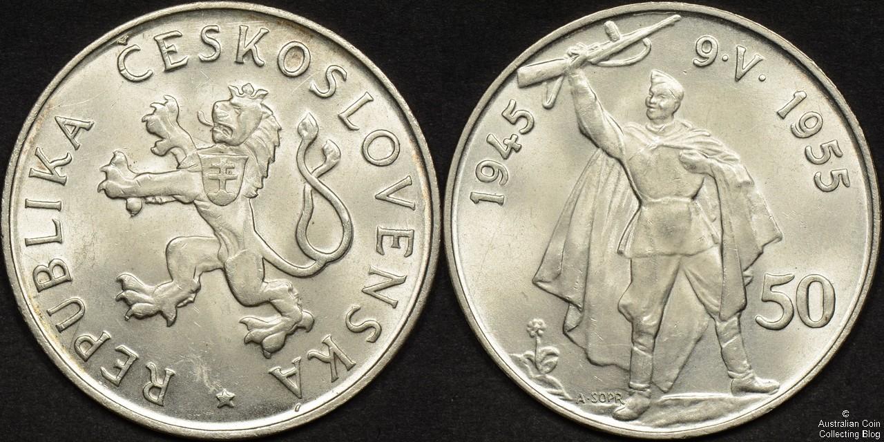 Czechoslovakia 1955 50 Korun