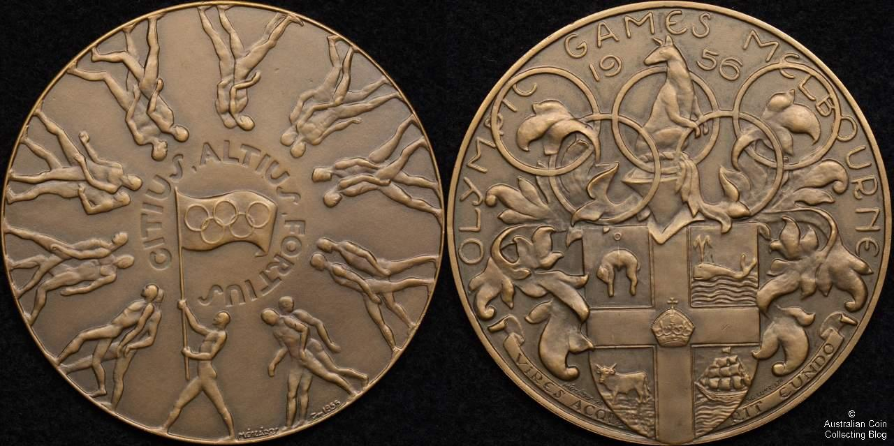 1956 Melbourne Olympic Games Medal