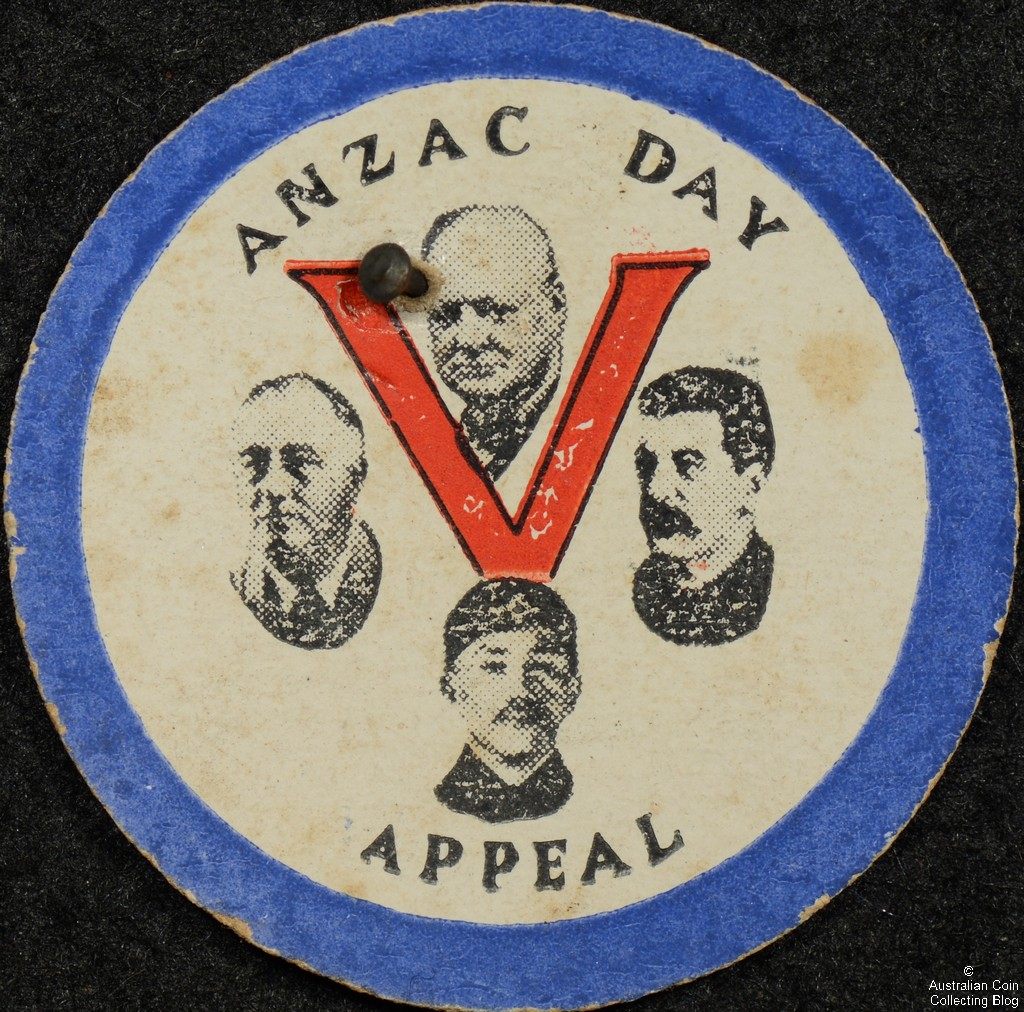 ANZAC Day Appeal Cardboard Badge
