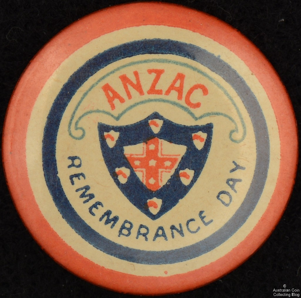 ANZAC Remembrance Day Tin Badge