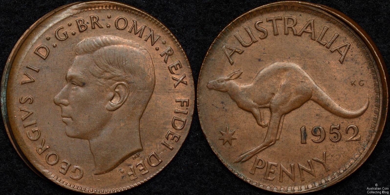Australia 1952 Penny Ramstrike Error | Our Coin Catalog