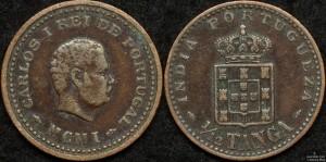 Portuguese India 1/12 Tanga