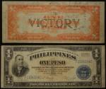 Phillipines One Peso Short Snorter
