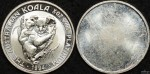 Uniface 1994 1/2 Ounce Platinum Koala AdvertisingFacsimile