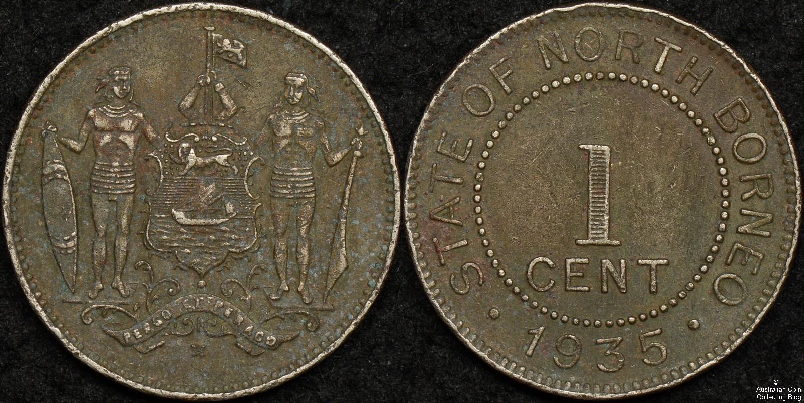 British North Borneo 1935H 1 Cent