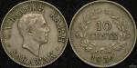 Sarawak 1934H 10 Cents
