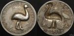 Australian Sixpence with Punched Emu -Trench Art