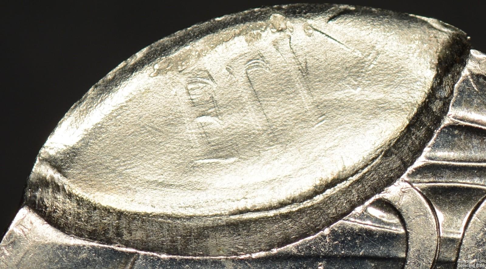 Australia 1981 20 Cent PCGS MS64 Double Struck Partial