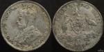 Australia 1925 Florin - Base Metal Forgery