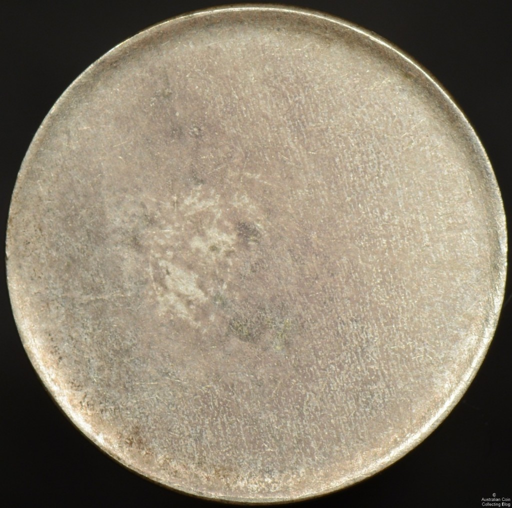 Australian Threepence Blank