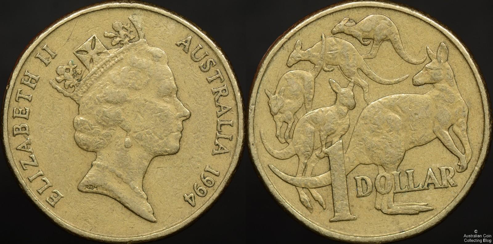 1994 Dollar Rabbit Ear Cud Variety