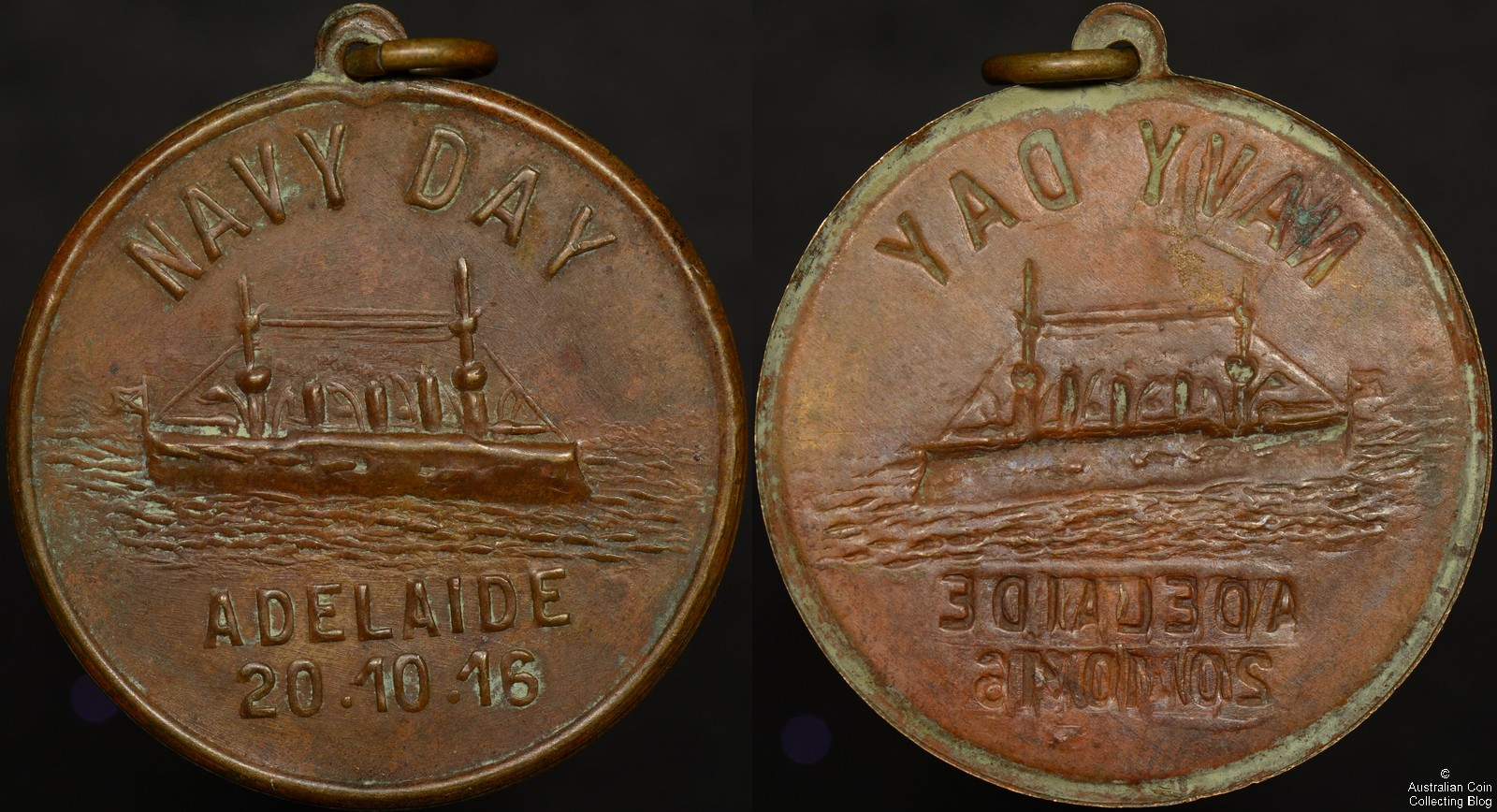1916 Adelaide Navy Day Medallion