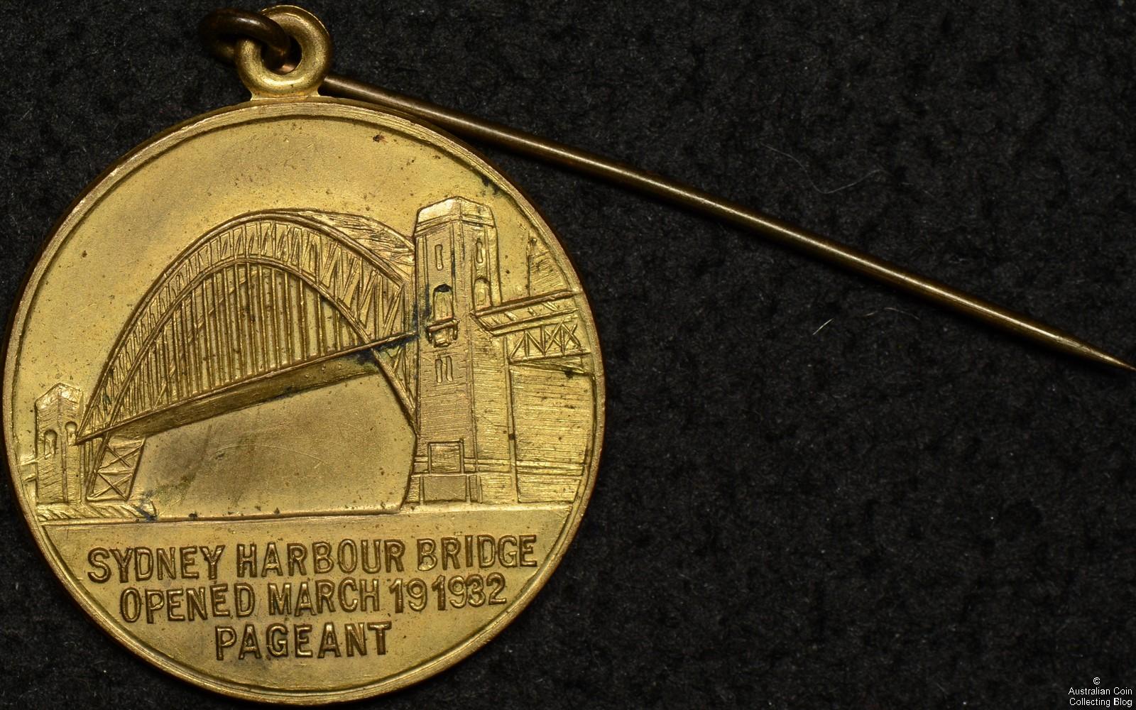 Sydney Harbour Bridge Pageant Medal