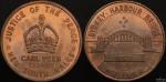 Sydney Harbour Bridge 1987 No Toll Carl Veen Medal